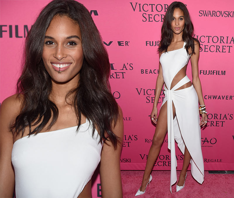 Victoria's Secret Fashion Show 2015 Pink Carpet: Cindy Bruna