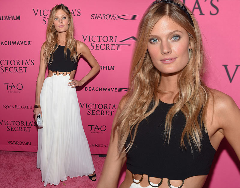 Victoria's Secret Fashion Show 2015 Pink Carpet: Constance Jablonski