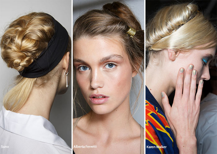 Spring/ Summer 2016 Hairstyle Trends: Romantic Updo Hairstyles