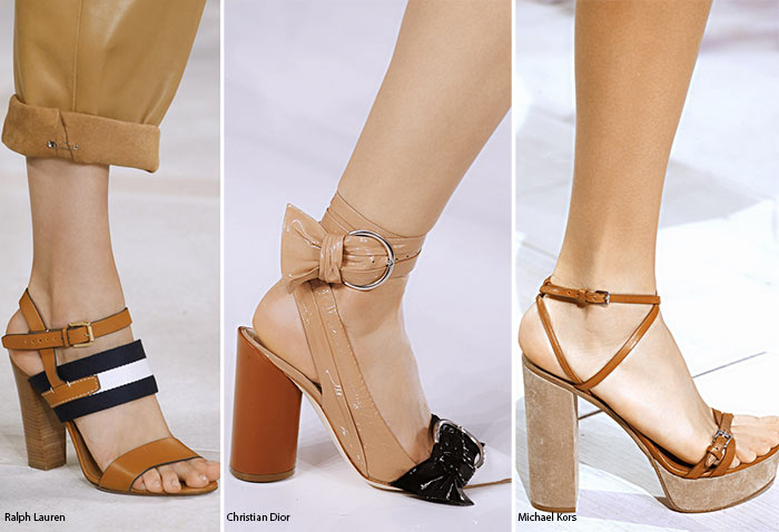 Spring/ Summer 2016 Shoe Trends: Shoes with Block Heels