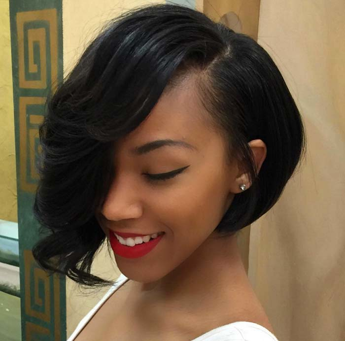 Short Hairstyles for Women: Asymmetrical Bob