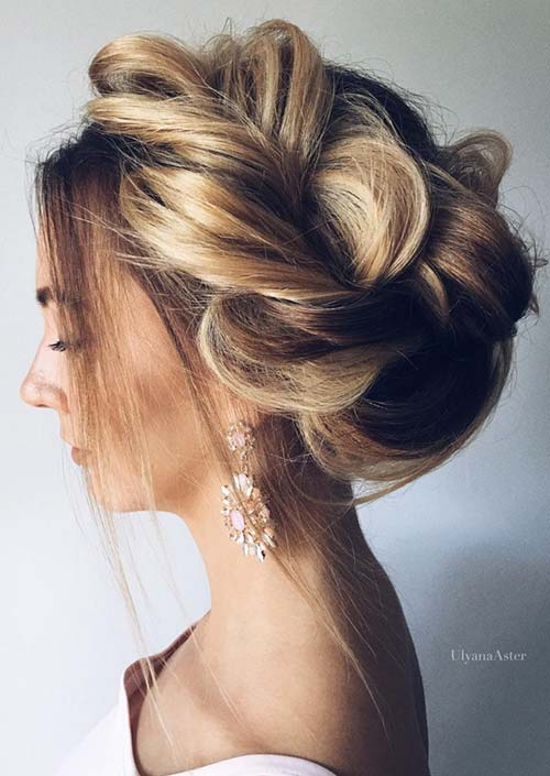 100 Trendy Long Hairstyles for Women: Wrapped Braided Crown