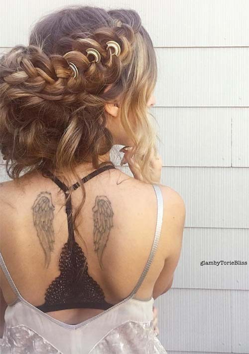 100 Ridiculously Awesome Braided Hairstyles: Boho Braids