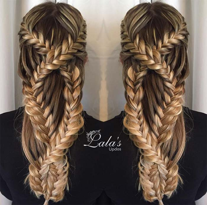 100 Ridiculously Awesome Braided Hairstyles: Infinity Braids