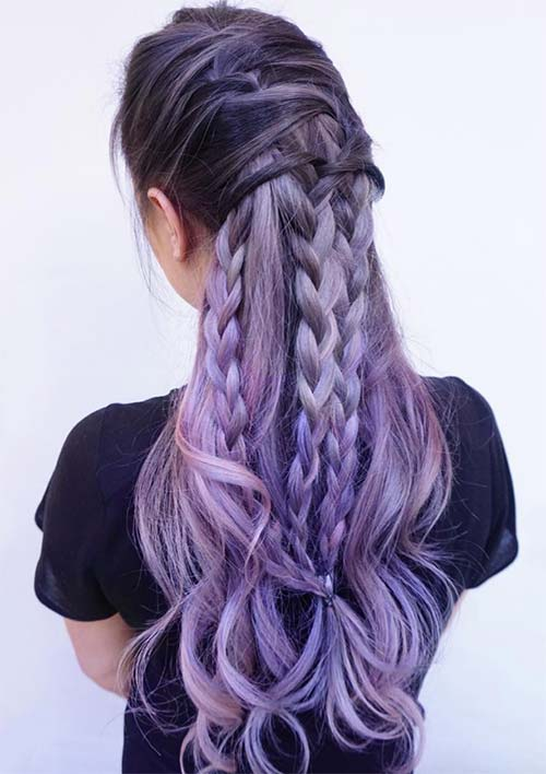 100 Ridiculously Awesome Braided Hairstyles: Interwoven Braids