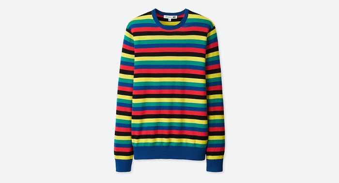J.W. x Uniqlo Collaboration striped sweater