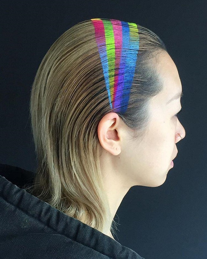 Spray-On Rainbow Headband is the New Amazing Hair Accessory