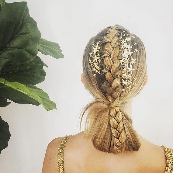 Gorgeous Hair Accessories To Glam Up Your NYE Hairstyle star accessories