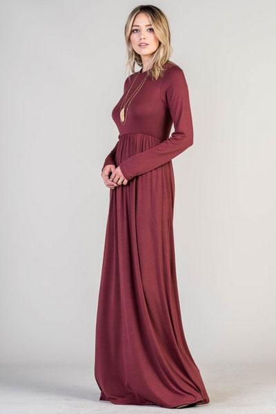 4 Dresses 3 Sleeve Knit Jersey
