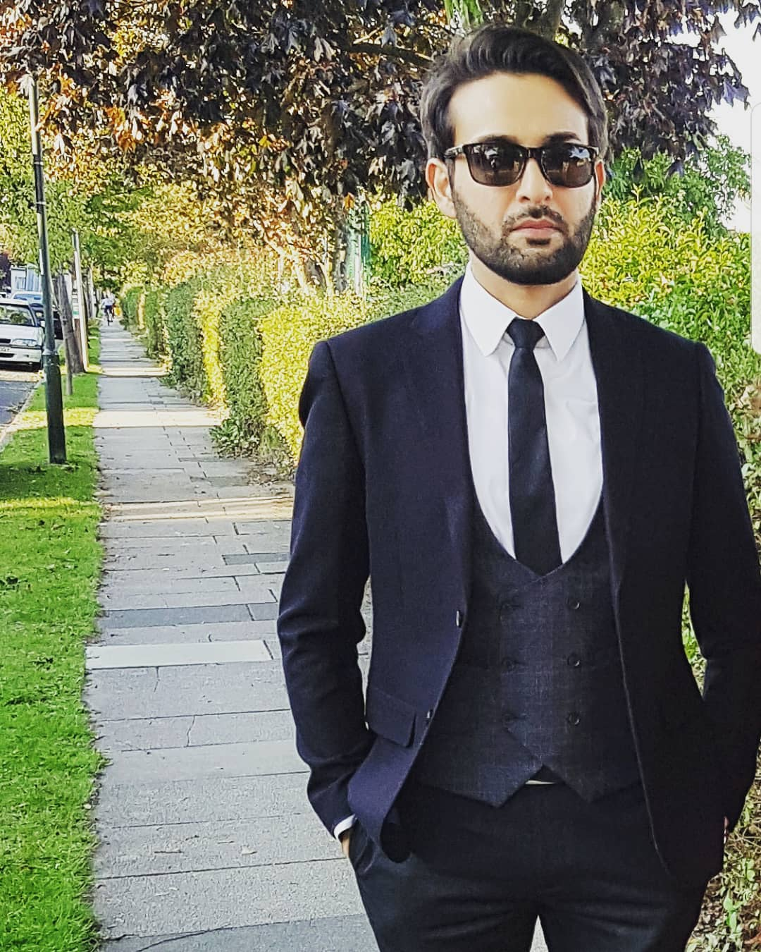 Latest Clicks Of Affan Waheed In London Pakistani Drama