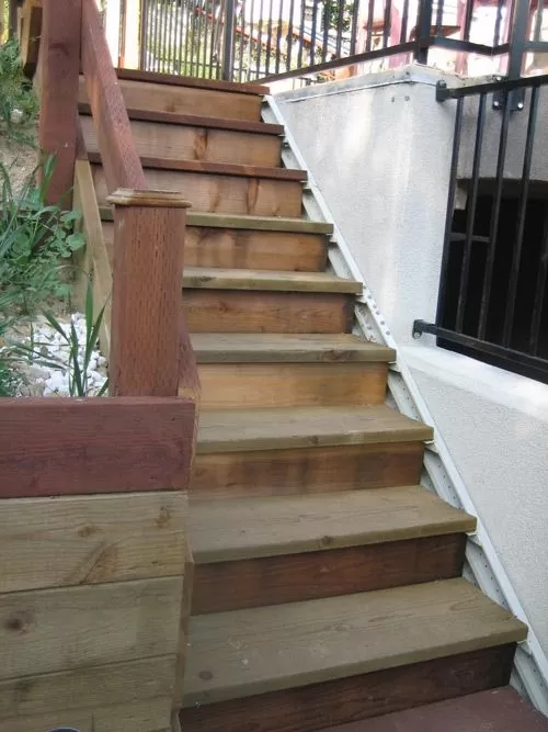 Outdoor Stair Stringers By Fast Stairs Com | Outdoor Stair Contractors Near Me | Wood | Stair Railing | Metal | Trex | Spiral Staircase