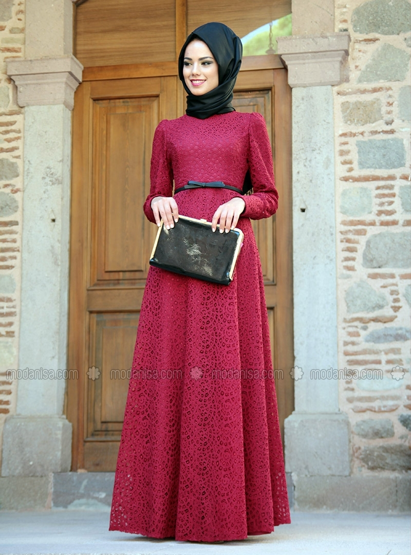 Image Result For Model Gamis Brokat Modern