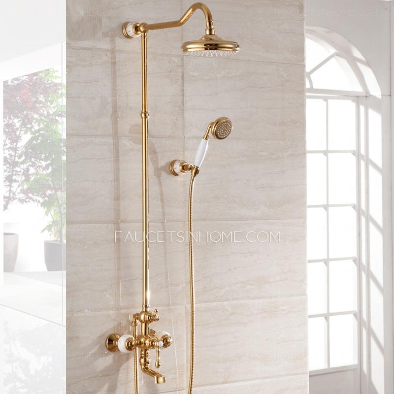 Gold Bath Accessory Sets
