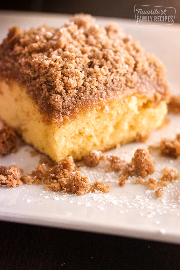 Cake Mix Coffee Cake Favorite Family Recipes