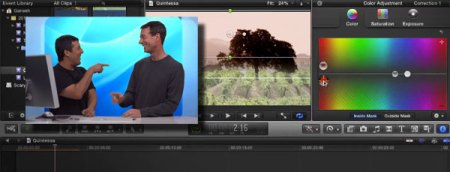 YouTube macbreak 167 color correction fcpx