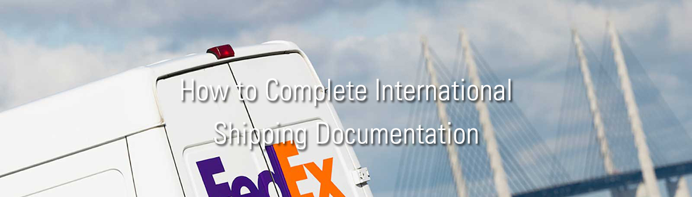 How to Complete International Shipping Documentation     FedEx   Poland