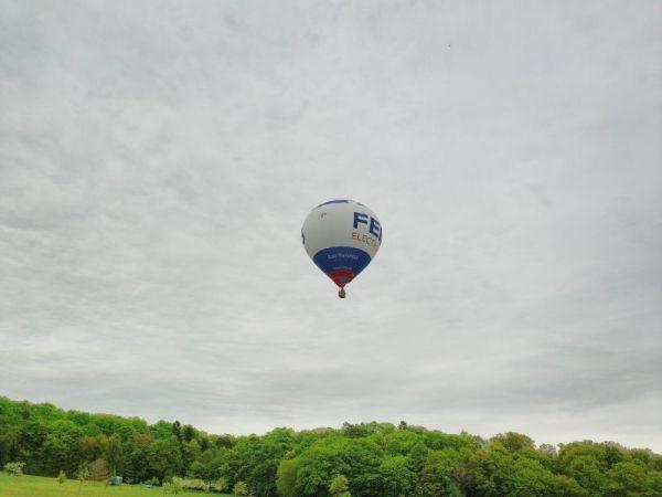 hot air ballonteam kassel # 17