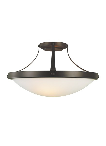 SF187ORB 2   Light Indoor Semi Flush Mount Oil Rubbed Bronze Loading zoom