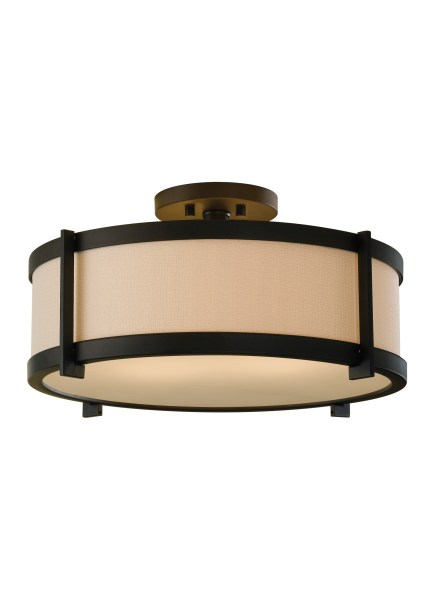 SF272ORB 2   Light Indoor Semi Flush Mount Oil Rubbed Bronze Loading zoom