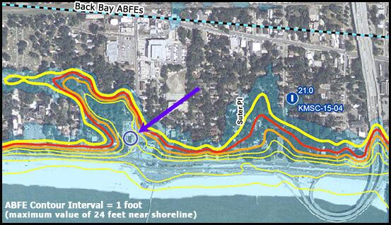Katrina Flood Map Mississippi Inundation