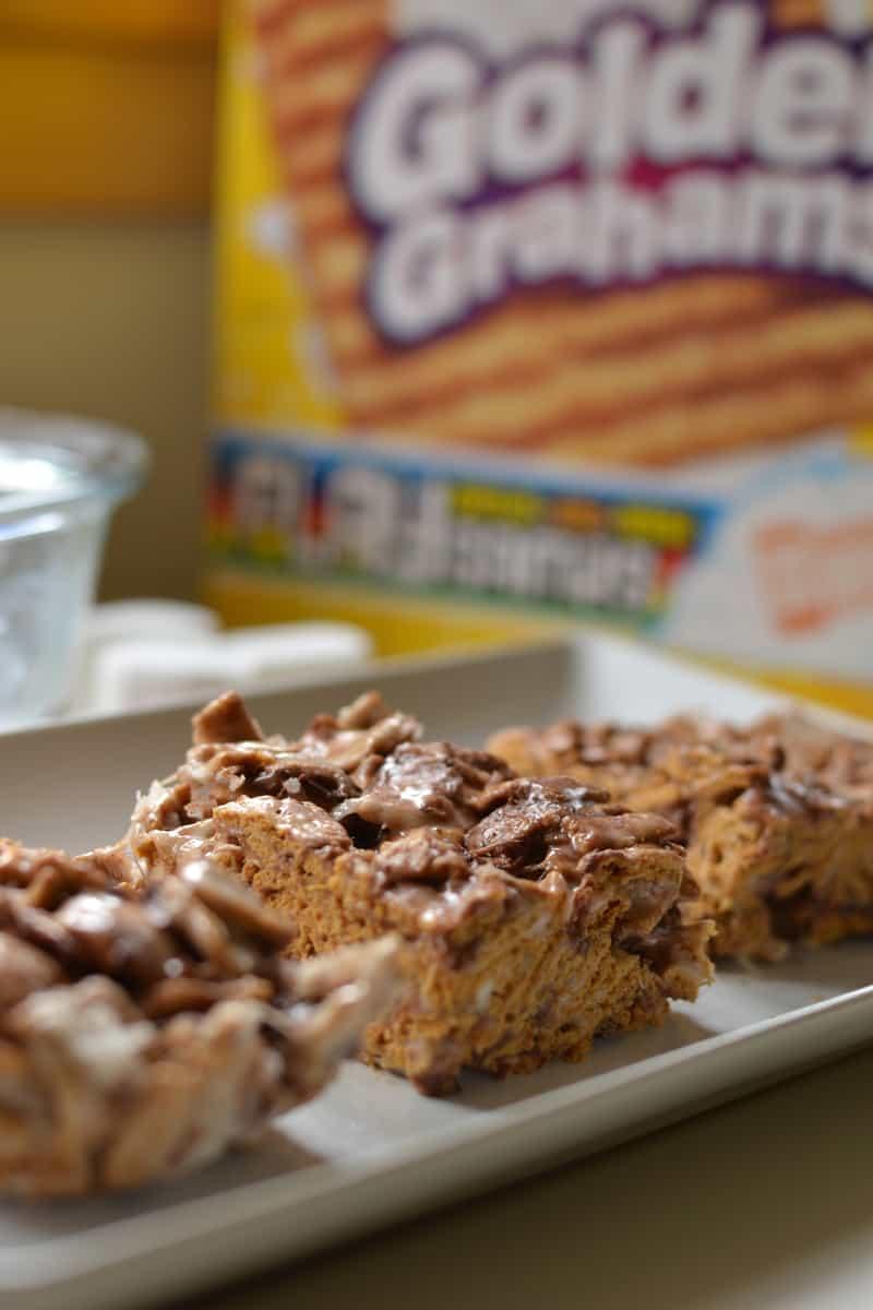Coconut Golden Graham S Mores Bars Female Foodie