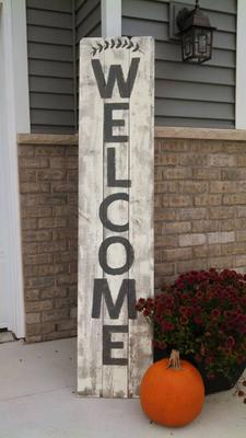 All Distressed Handcrafted Wood Fence Panel Signs Wood