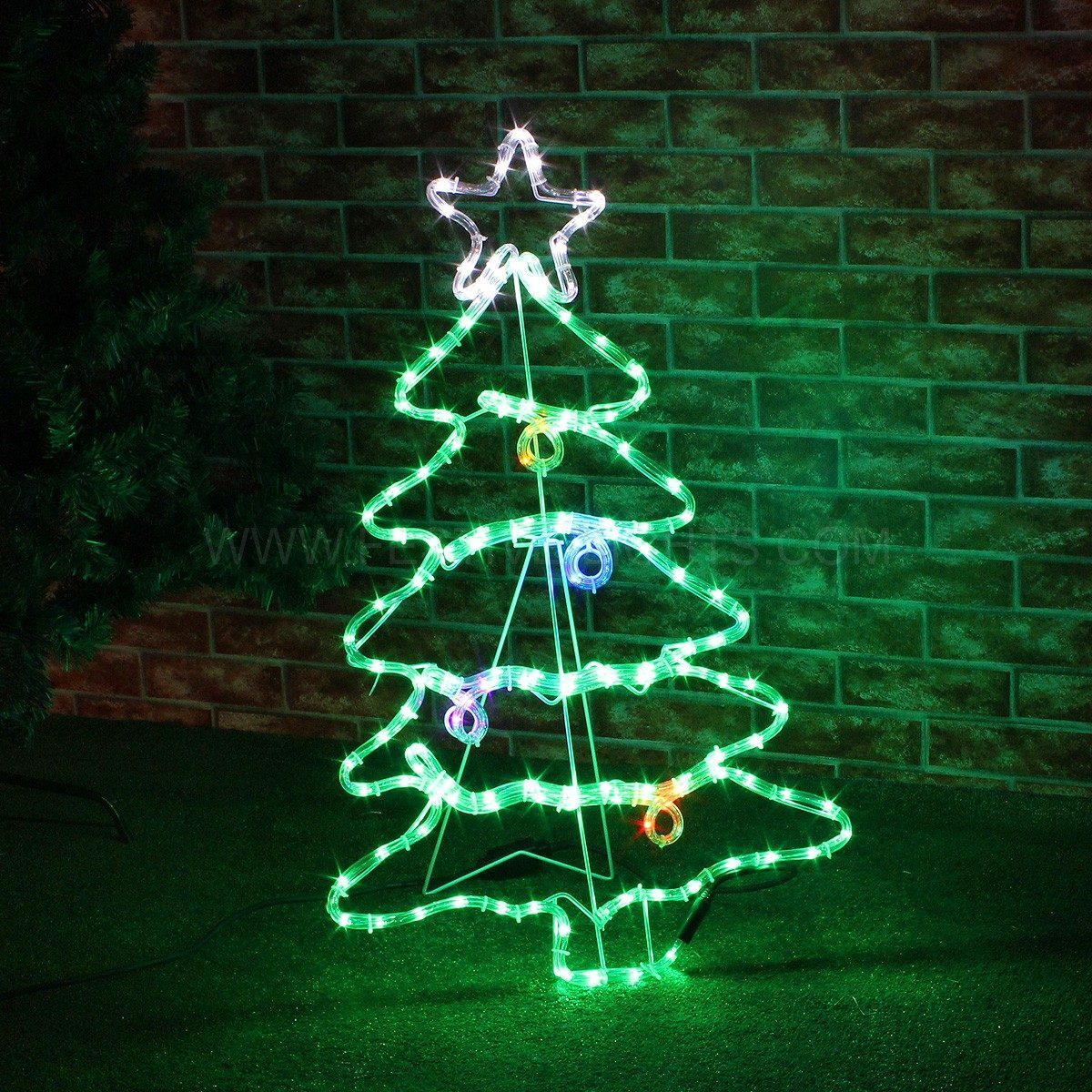 Led Light Christmas Canvas