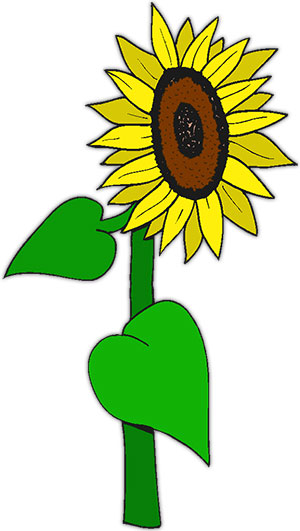Free Sunflowers Animated Gifs Clipart