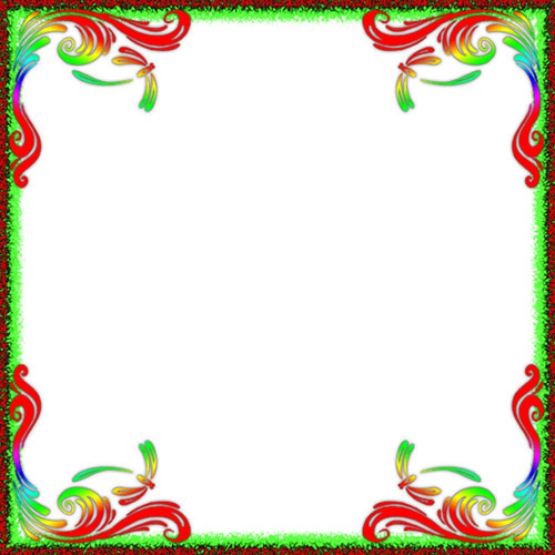 Frames Rose Borders Black White And And