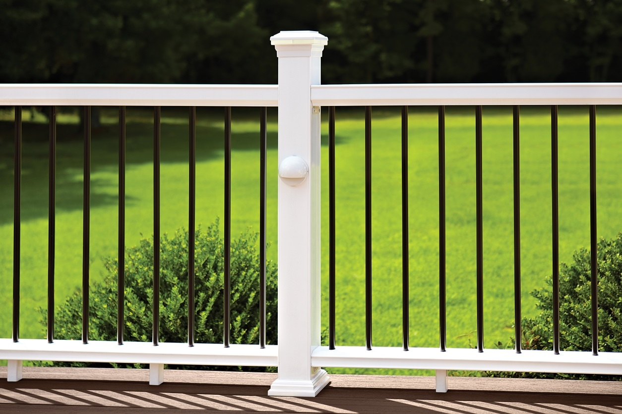 Your Top 3 Deck Railing Questions Answered – | White Railing Black Spindles | Paint | Wrought Iron | Porch Railing | Iron Balusters | Aluminum Balusters