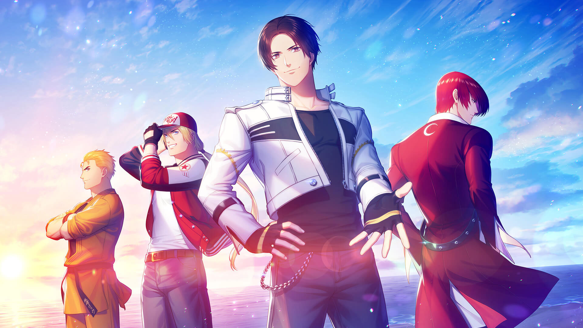 Quot The King Of Fighters For Girls Quot Official Character Artwork