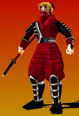 Red Shadow Buishido Blade