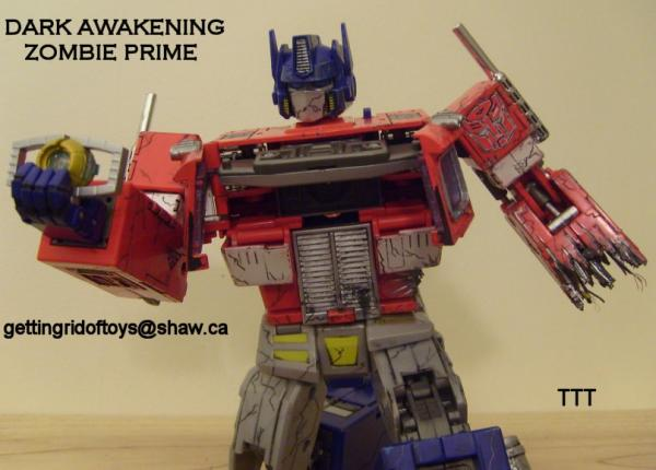 Dark Awakening Optimus Prime I (Transformers - Alternators ...