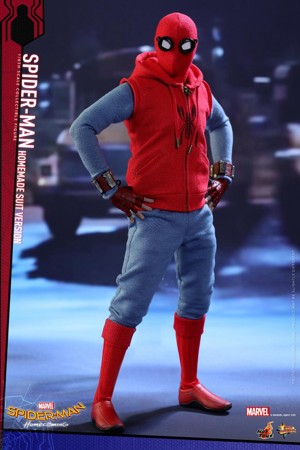 Hot Toys Spider Man Homecoming 1 6 Spider Man Homemade