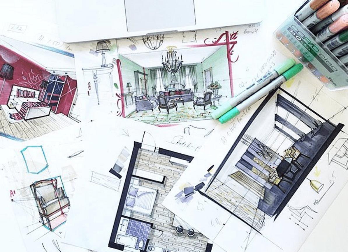 Technical Basics Design Drawing Interior