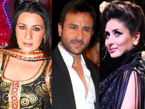 Amrita Singh Avoid   Kareena Kapoor   Saif Ali Khan ...