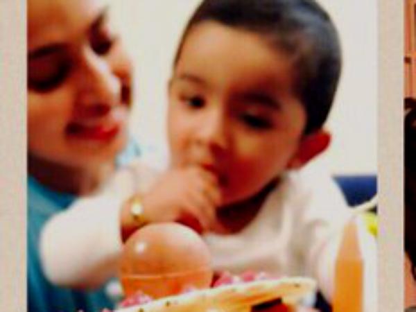 Photos Sneha Amp Prasanna Celebrate Their Son Vihaan S