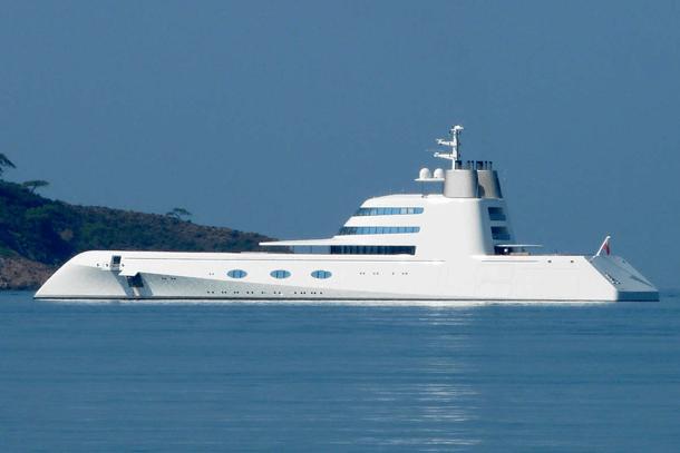 Andrey Melnichenko Yacht