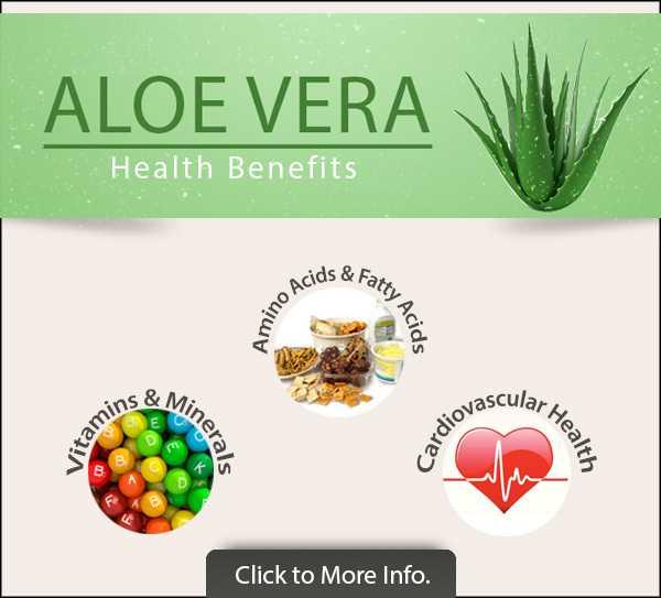 Fresh Aloe Vera Skin Benefits