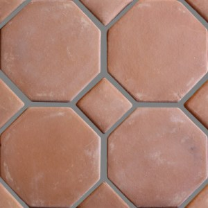 Octagon Clay Lincoln Mexican Floor Tile Octagon Clay Lincoln Mexican Floor Tile Details