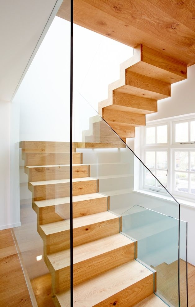 7 Stars Auto Glass With Contemporary Staircase And Floating | Floating Stairs With Glass Railing | Duplex Balcony | Combination Glass | Glass Balustrade | Crystal Handrail | Innovative Glass