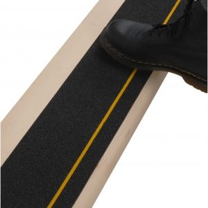 6″X40″ Stair Treads Non Slip Outdoor Tape – 10 Pack Black Anti | Reflective Tape For Outdoor Steps | Hazard Warning Tape | Yellow | Self Adhesive | Retro Reflective | Concrete Steps