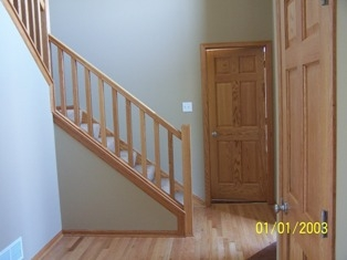Basement Stair Rail And Baluster Question Carpentry Diy | Installing Newel Post And Spindles | Stair Parts | Staircase | Stair Banister | Iron Stair | Wrought Iron Spindles