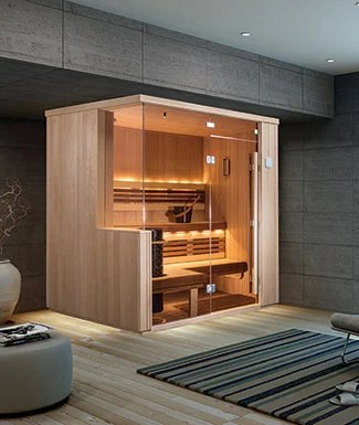 Indoor Sauna Rooms For The Home By Finnleo Pure Sauna
