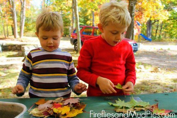 autumn leaf suncatchers 2