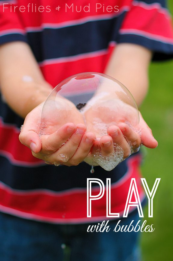 Play with Bubbles