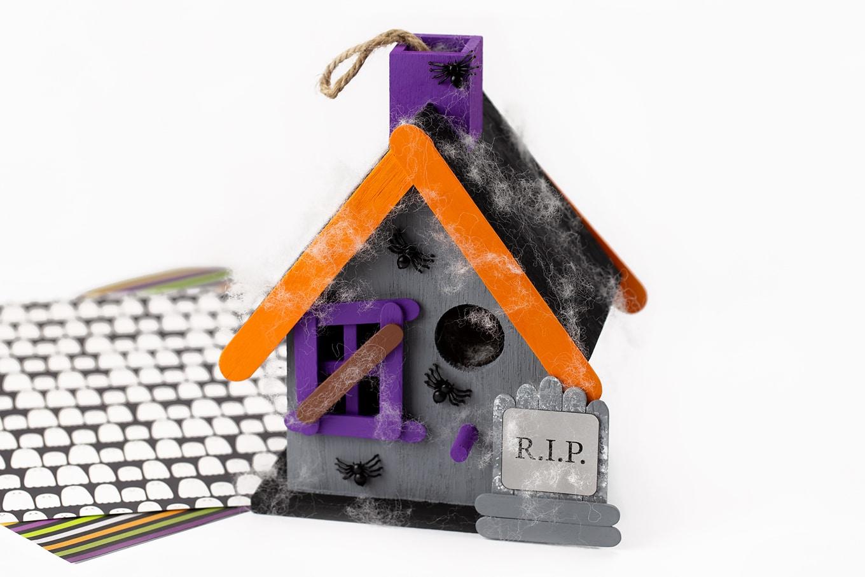 Haunted Birdhouse Craft