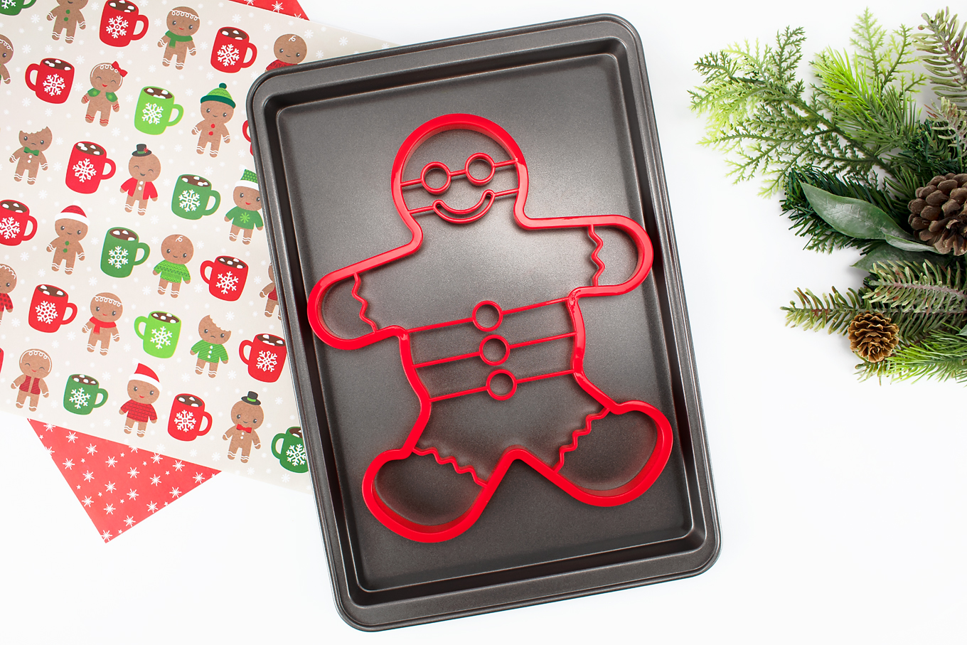 Oversized Christmas Cookie Cutter