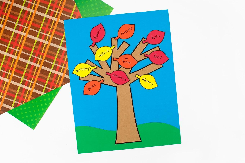 Gratitude Tree Pattern