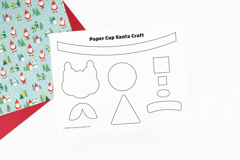 Santa Craft Template